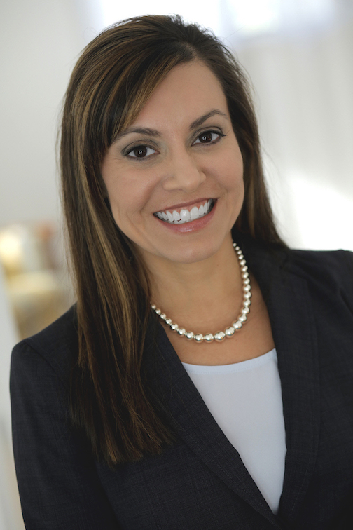 lady smiling in professional attire